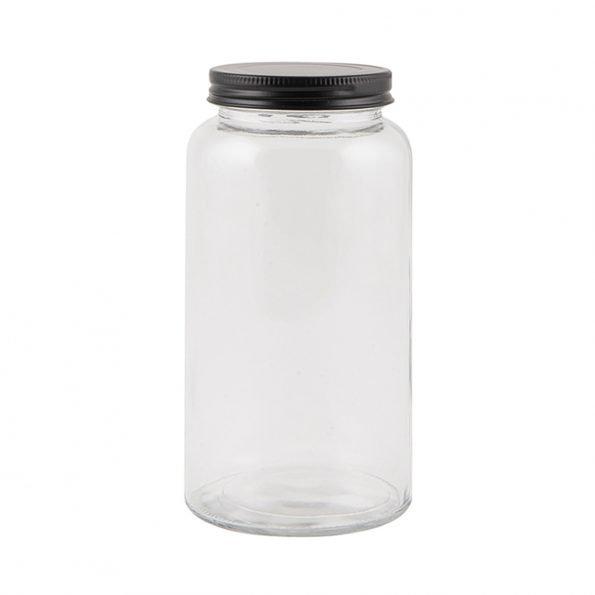 Stiklinis indas su dangteliu 800 ml talpos