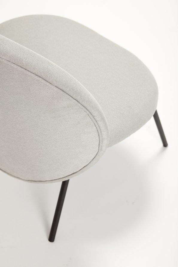 Kėdė Pia, pilka