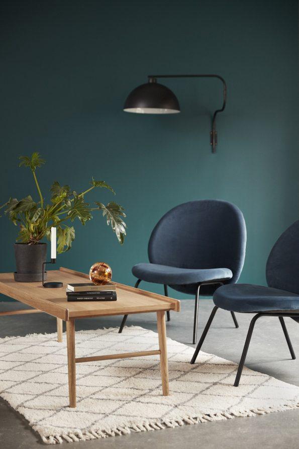 Kėdė Pia, mėlyna