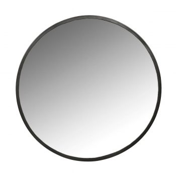 60 cm skersmens veidrodis metaliniu rėmu