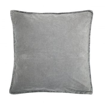 Aksominė dūmų pilkumo pagalvėlė
