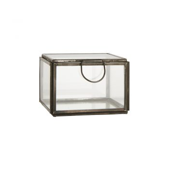 Kvadratinė stiklinė dėžutė Altum
