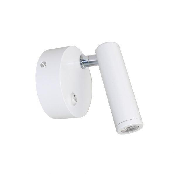 Kryptinis baltas šviestuvas