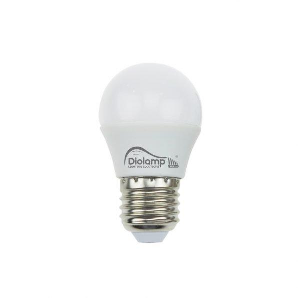 LED lempute E27 matinė