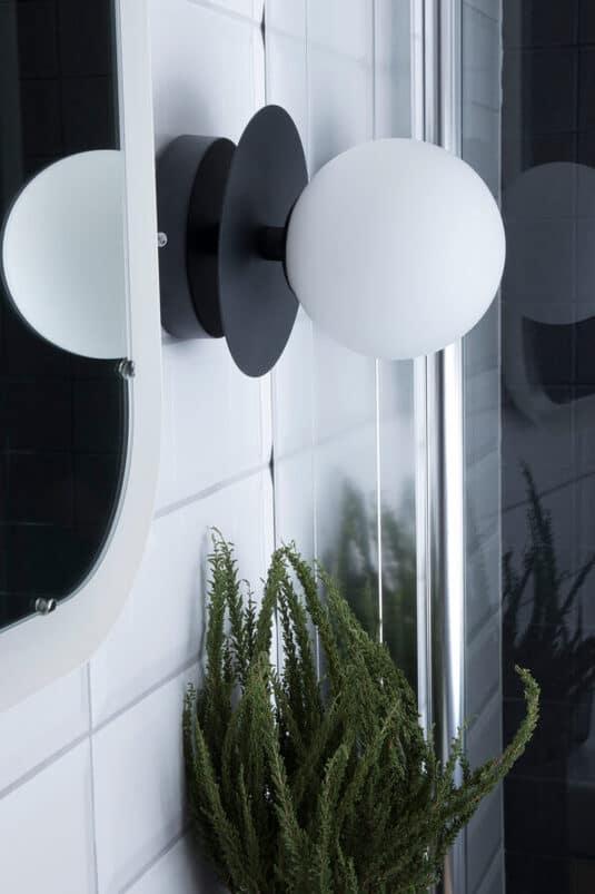 Sieninis / lubų šviestuvas Art Deco