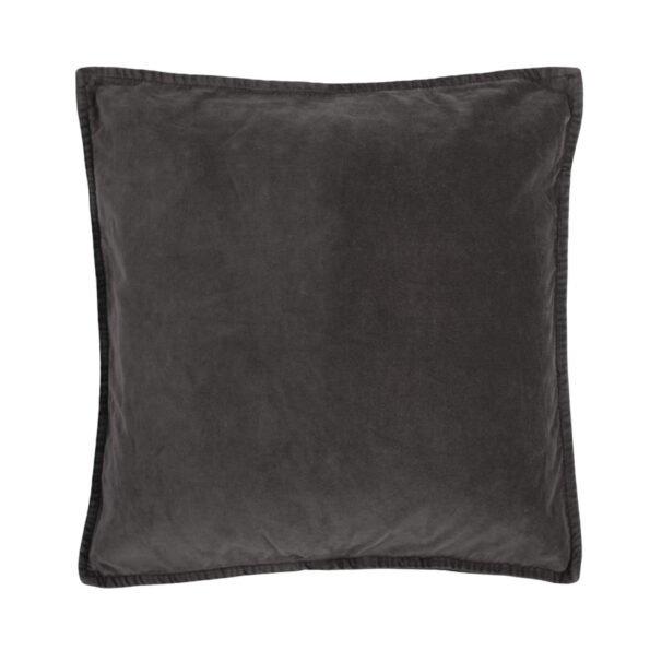 Tamsiai pilkas pagalvėlės užvalkalas