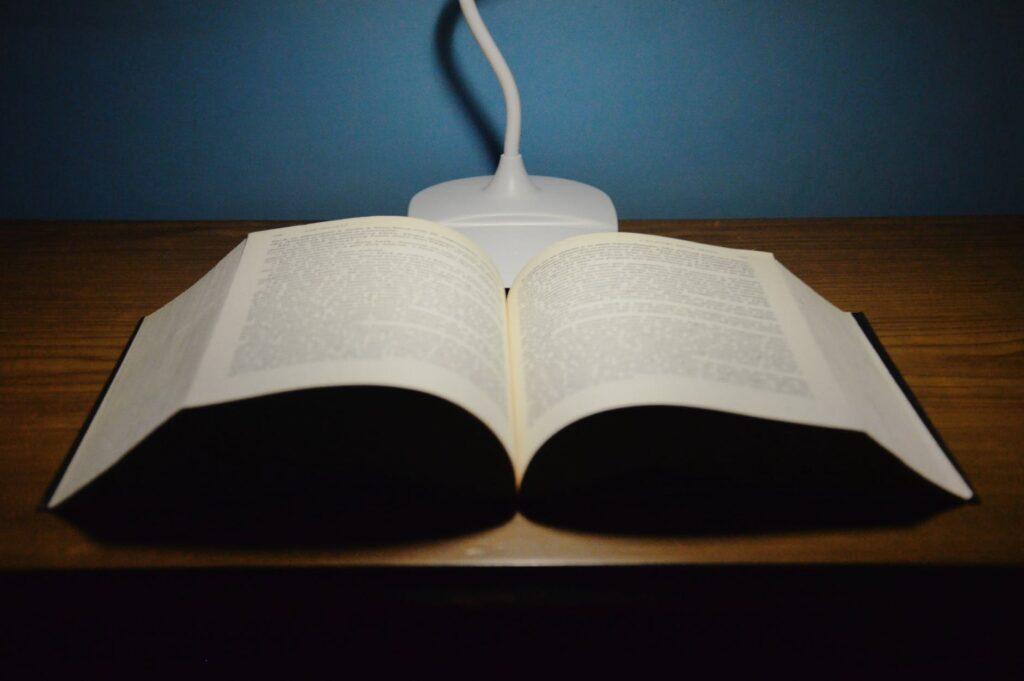 apšvietimas skaitymui