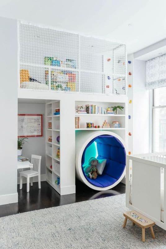 Jaukus vaikų miegamasis. Kaip įrengti?
