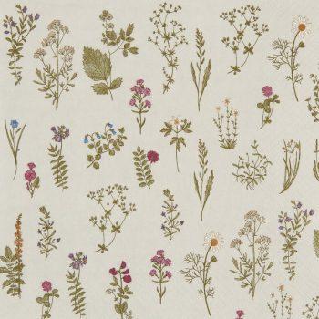 Servetelės Flora